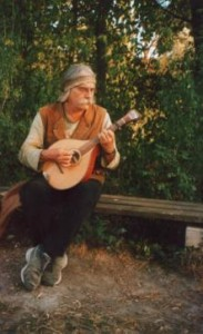 Uli Otto mit Waldzither